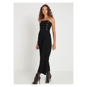 ✨HP✨ Black Strapless Jumpsuit